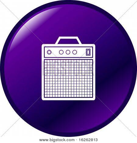 instrument amplifier button