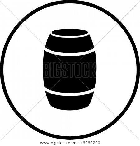 barrel container symbol