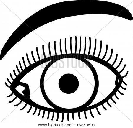 ojo con las pestañas y cejas