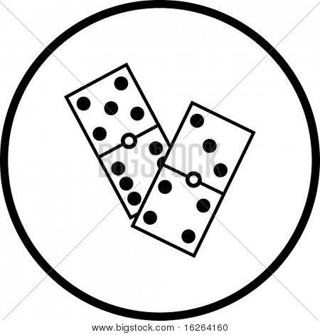 dominoes symbol
