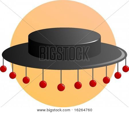 folkloric hat