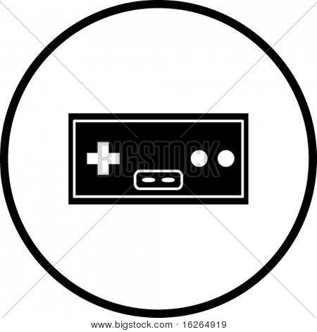 classic joypad symbol