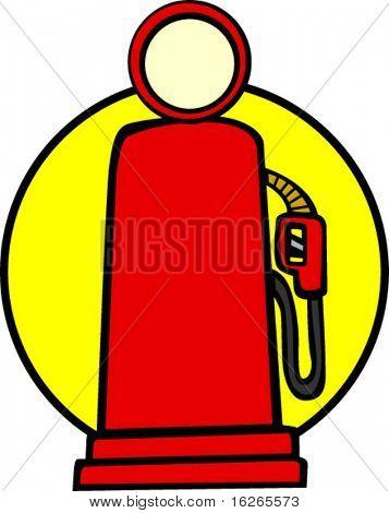 bomba de gas Vintage