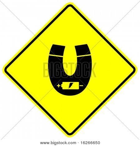 electromagnet sign