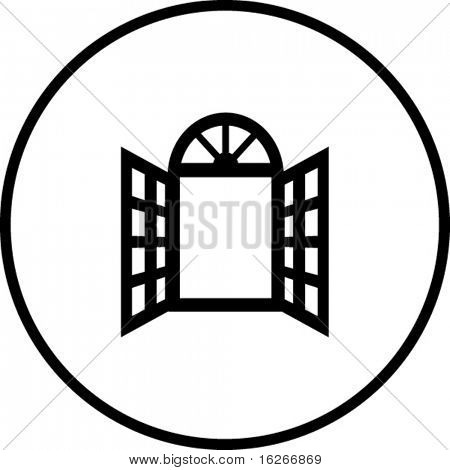 open window symbol