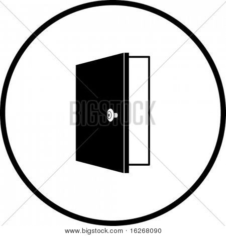 open door symbol images