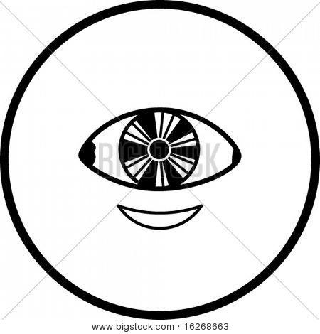 contact lenses symbol