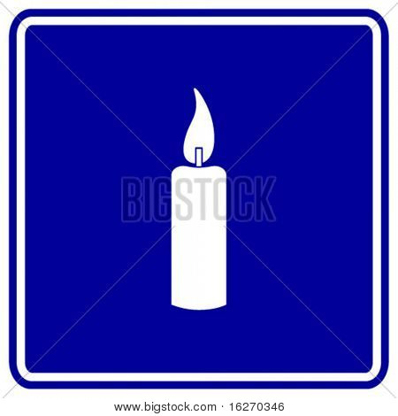 candle sign