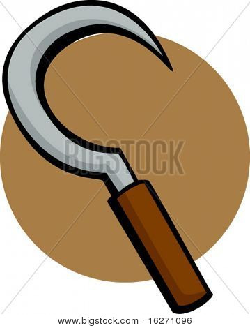 sickle agricultural tool