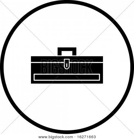 closed toolbox symbol