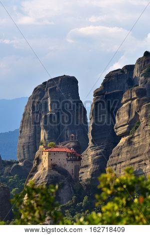 Monastery Of St Nikolaos Anapafsas, Meteora, Greece