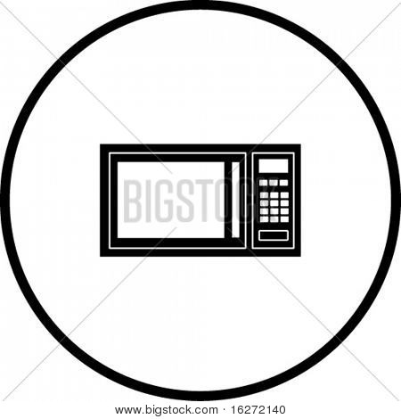microwave oven symbol