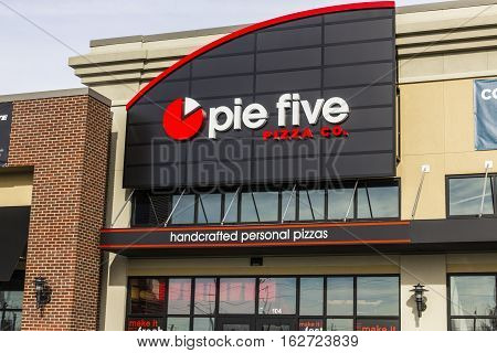 Indianapolis - Circa December 2016: Pie Five Pizza Co. Fast Casual Restaurant Location. Pie Five Pizza is owned by Rave Restaurant Group (RAVE) II