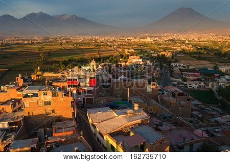 Arequipa is the second largest city in Peru after Lima.