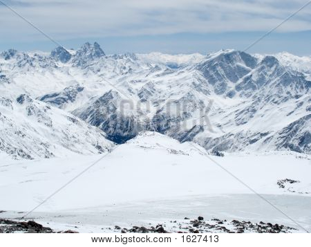 Mountains Landscape. Caucasus.