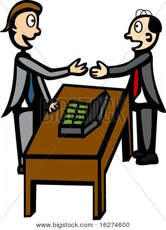 business negotiation or bribe