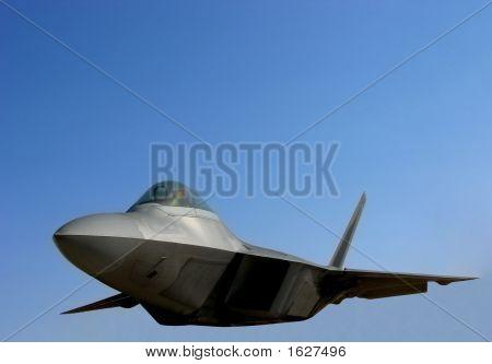 F22 Raptor Air Force Fighter Plane Flying