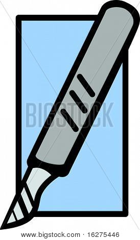 scalpel knife