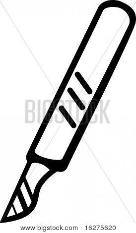 scalpel knife