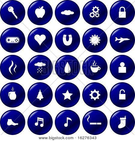 diverse buttons set 1