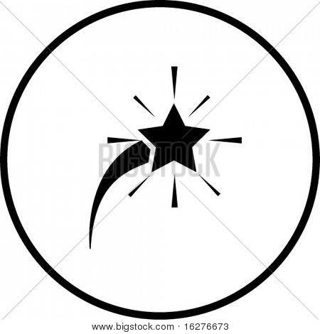 comet star symbol