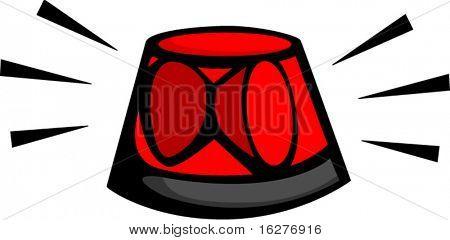 emergency rotating beacon light
