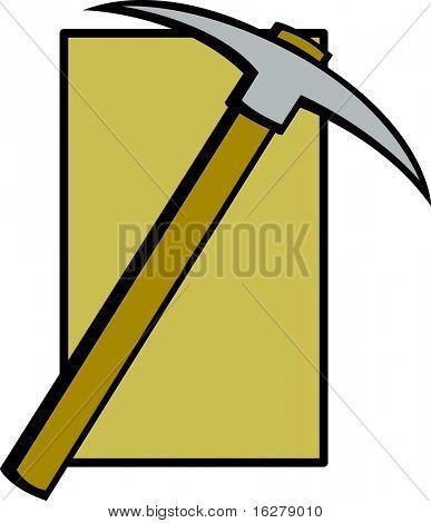 mining pickaxe tool