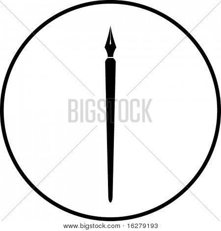 símbolo de la pluma