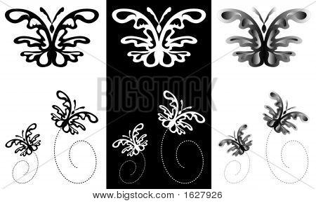 Butterfly Ornamental Art 31