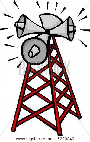 sound communication tower