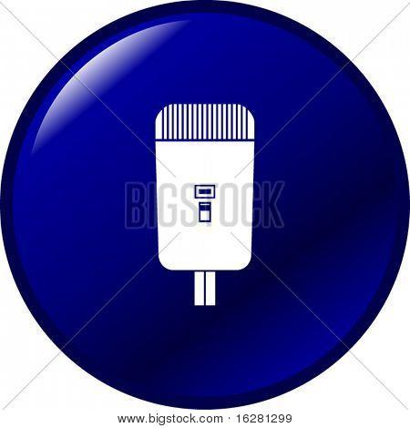 electric shaving machine button
