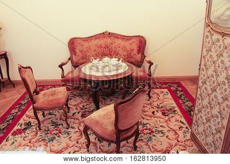 Tea Room Gatchina Palace.