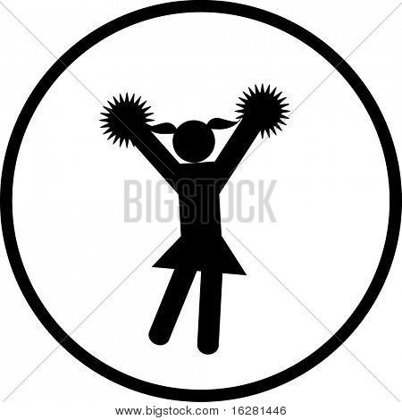 cheerleader symbol