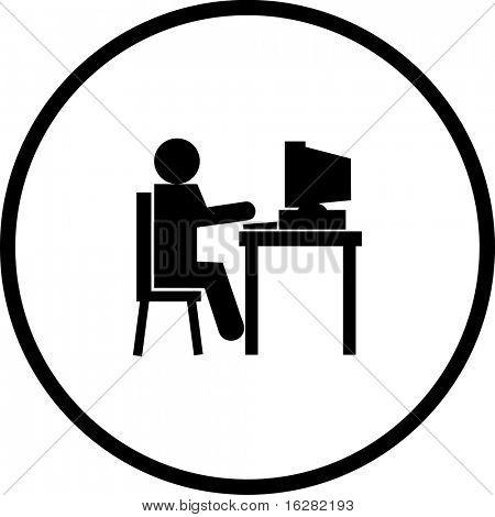 using a computer symbol