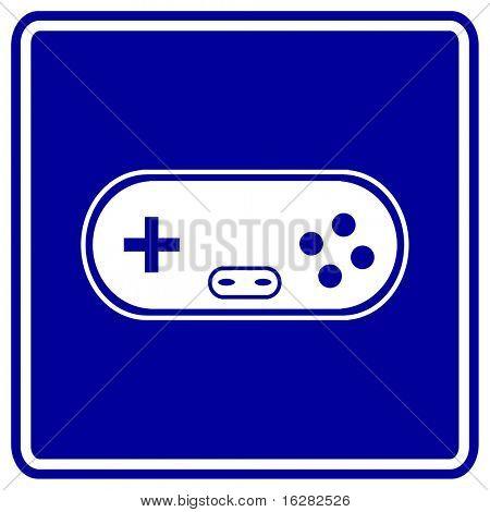 gamepad game controller sign