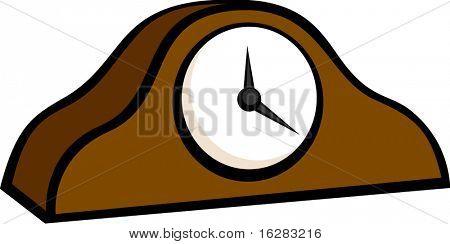 ornamental mantel clock
