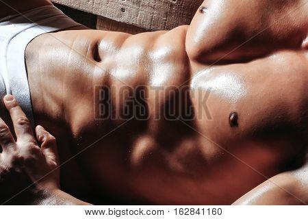 Male Muscular Body Or Torso