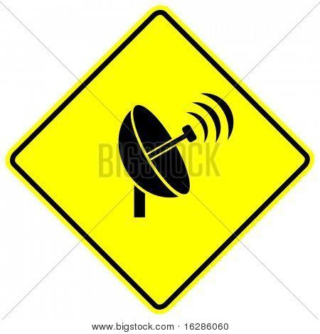 señal de transmisión de antena