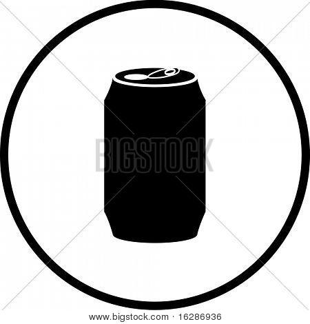 bebida puede símbolo