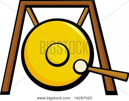 gong suspendido