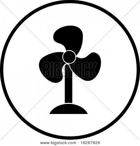 fan air blower symbol