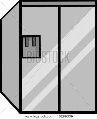big refrigerator