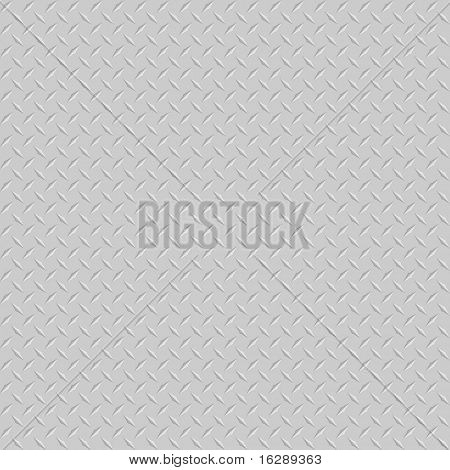 diamond plate or checker plate sheet metal background