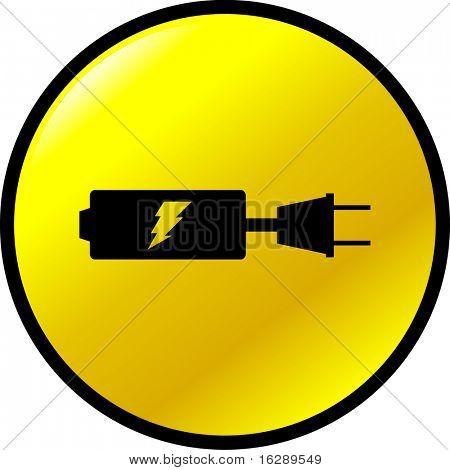 battery recharging button