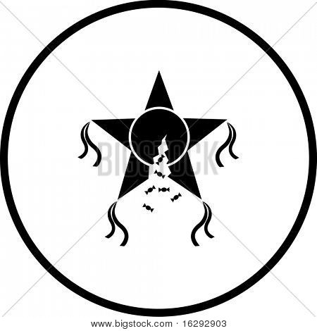 broken pinata symbol