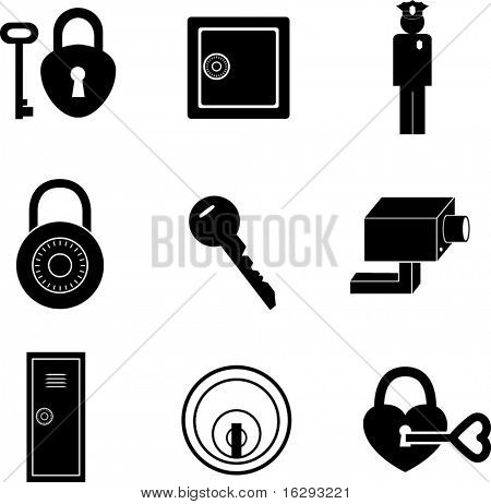 Safety And Security Symbols Mini Set Poster Id16293221
