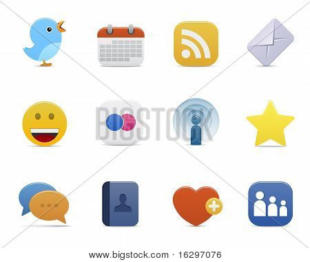 Smooth series - social media icons
