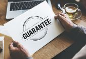 Guarantee Approved Authorized Certified Concept poster
