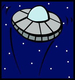picture of ovni  - unidentified flying object ufo space ship - JPG