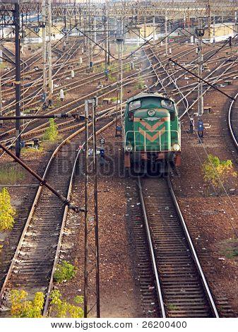 Switching diesel locomotive 1027_08